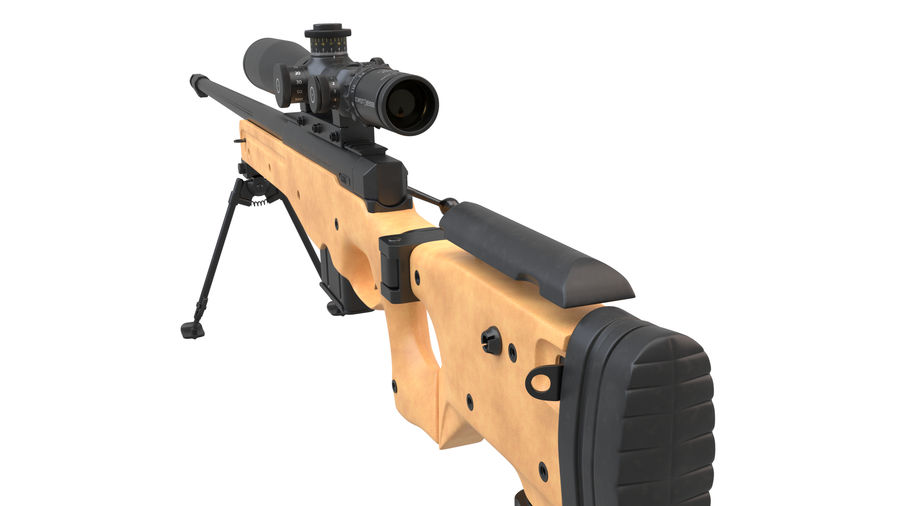 L115a3 Awp Sniper Rifle1 royalty-free 3d model - Preview no. 8