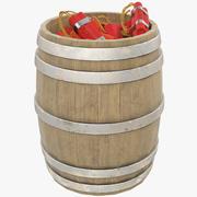 TNT Barrel V1 3d model