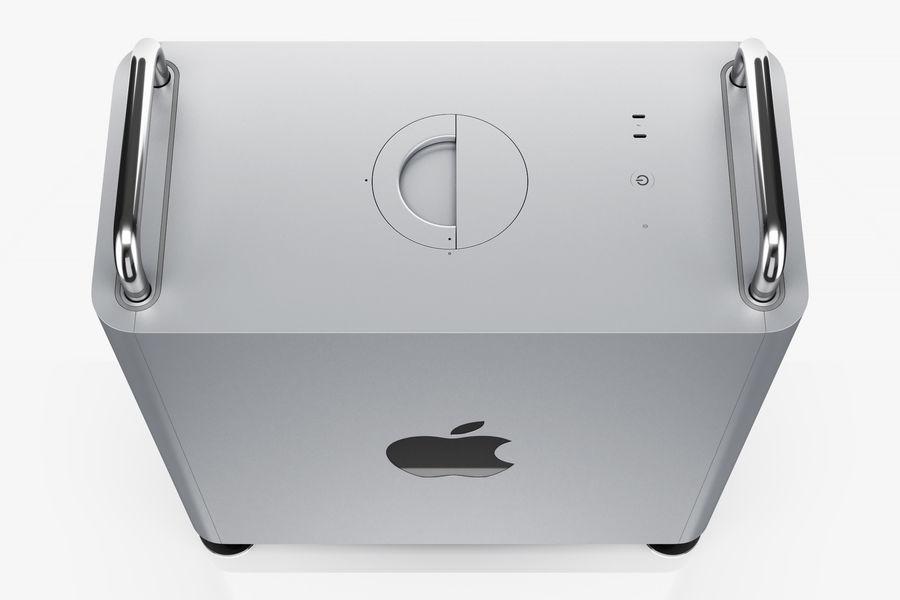 Apple Mac Pro 2019 royalty-free 3d model - Preview no. 7
