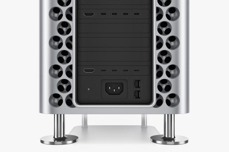 Apple Mac Pro 2019 royalty-free 3d model - Preview no. 12