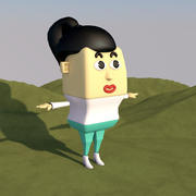女人 3d model