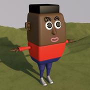 мужчина 3d model