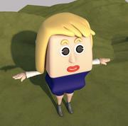 Kadın 3d model