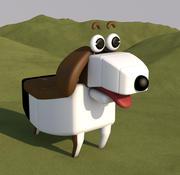 köpek 3d model