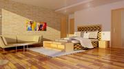 卧室 3d model