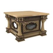 装飾テーブル 3d model