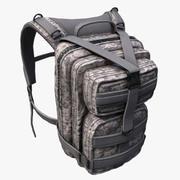 Backpack military Scifi 3d model