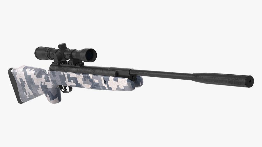 Kapsamlı Kamuflaj Arası Namlu Havalı Tüfek royalty-free 3d model - Preview no. 2