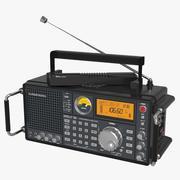 Grundig Satellite Radio 3d model