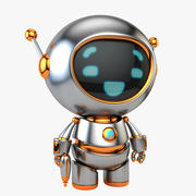 Baby Bot (Space Ranger) 3d model