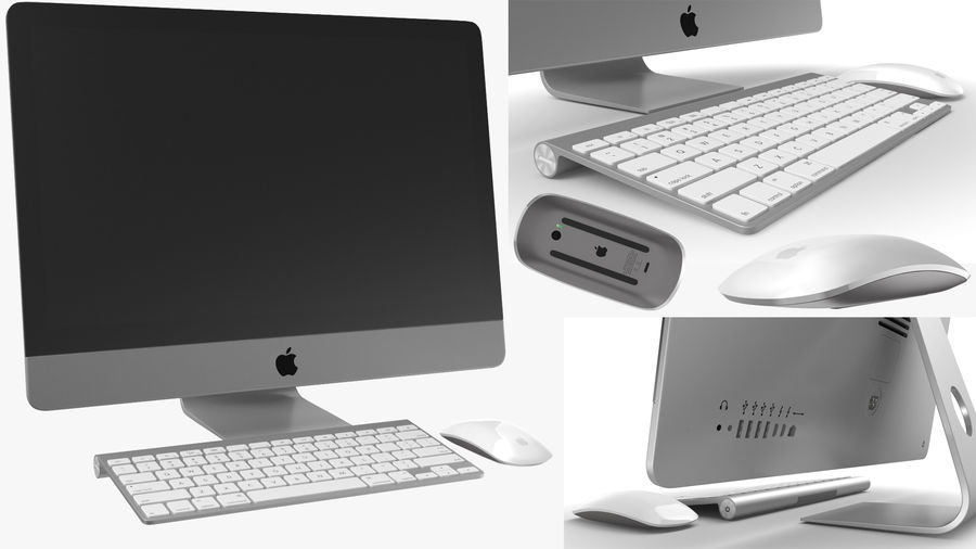 Workstation per cubicoli royalty-free 3d model - Preview no. 7