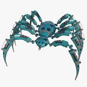 Spider Bot HD 3d model