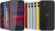 Apple iPhone 11 All Colors 3d model
