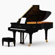 Fortepian Fazioli 3d model