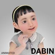 Ragazza coreana - DABIN 3d model