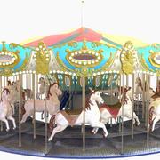 Grand Carousel 3d model