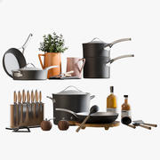 Kitchen Accessories 2 3d model