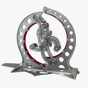은하 마그네틱 엔진 3d model