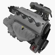 Honda D16Y7 1.6L engine 3d model