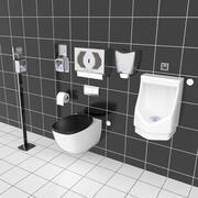 Активы для ванной 3d model