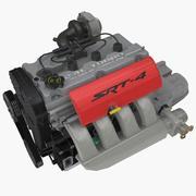 Chrysler EDV/EDT 2.4L Turbo engine 3d model