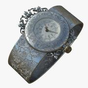 Bracelet Wristwatch 3d model