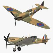 Spitfire MkI 3d model