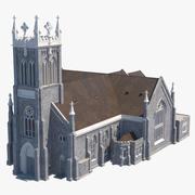 Ancient Catholic Church 3d model