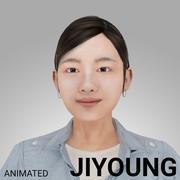 Donna coreana - JIYOUNG 3d model