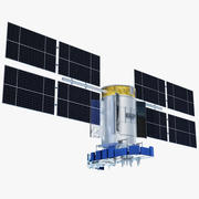 GLONASS-M Satellite 3d model