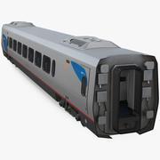 Acela Express First Class Coach 3d model