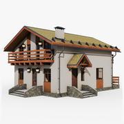 GameReady Cottage 2 3d model
