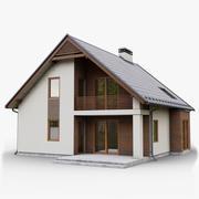 GameReady Cottage 3 3d model