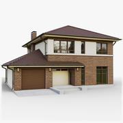 GameReady Cottage 4 3d model