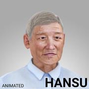 Idoso coreano - HANSU 3d model