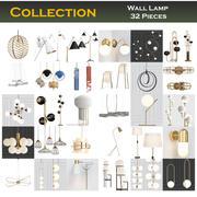 壁灯收藏32件 3d model
