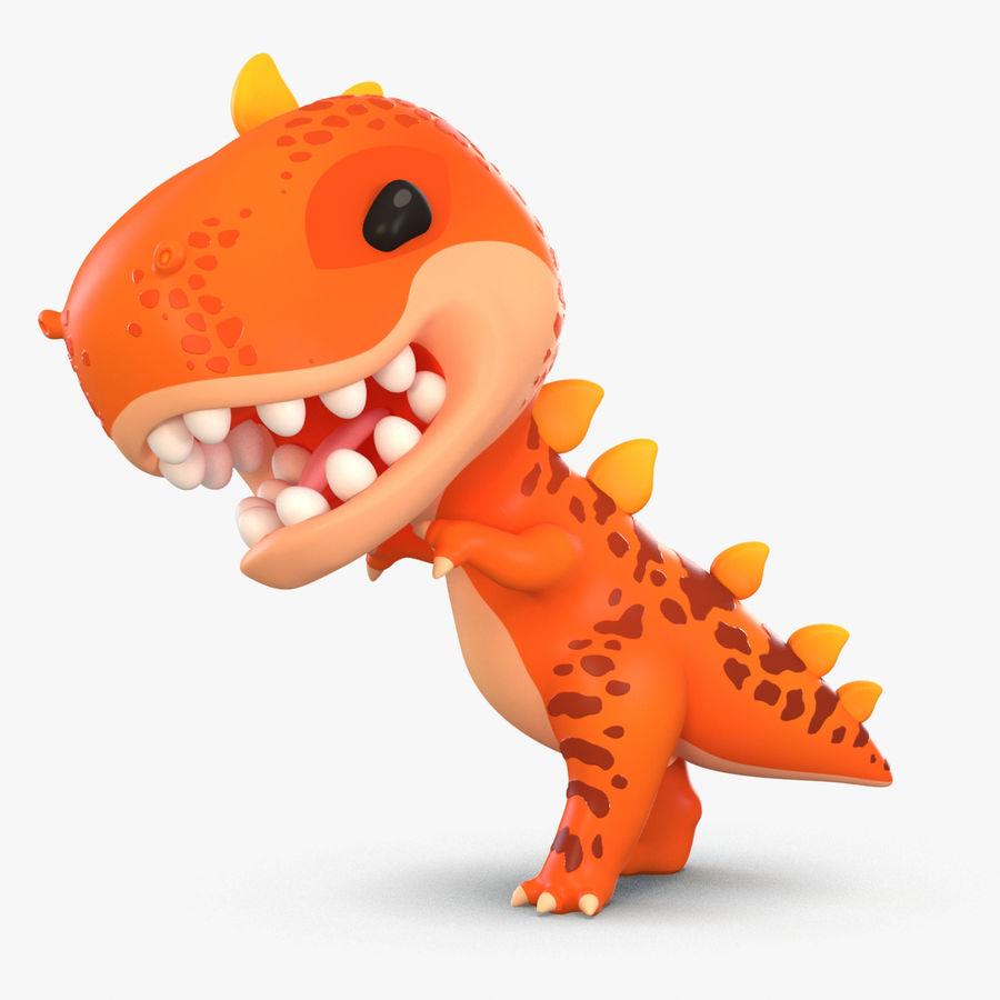 Dinosaurio De Dibujos Animados T Rex Modelo 3d 79 Obj Fbx Max Free3d Superorden de vertebrados saurópsidos que dominaron la era mesozoica. dinosaurio de dibujos animados t rex