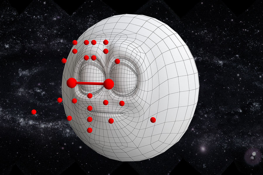 solar system All planets royalty-free 3d model - Preview no. 14
