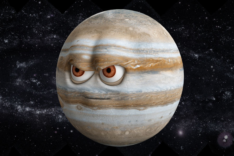 solar system All planets royalty-free 3d model - Preview no. 21