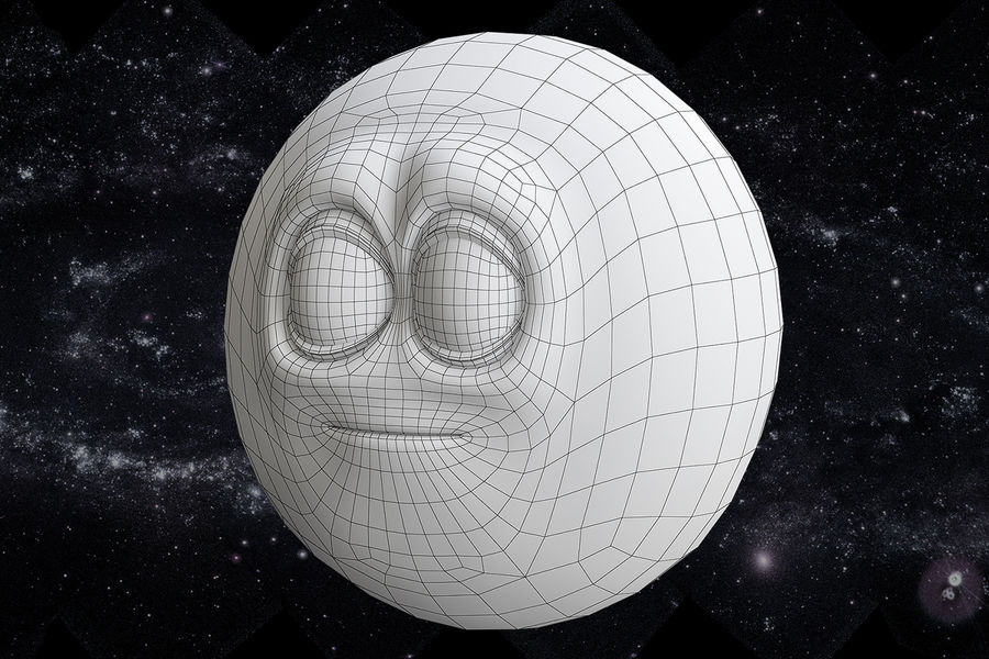 solar system All planets royalty-free 3d model - Preview no. 15
