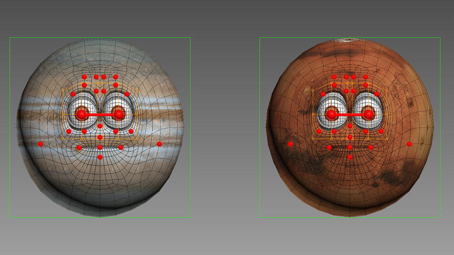 solar system All planets royalty-free 3d model - Preview no. 26