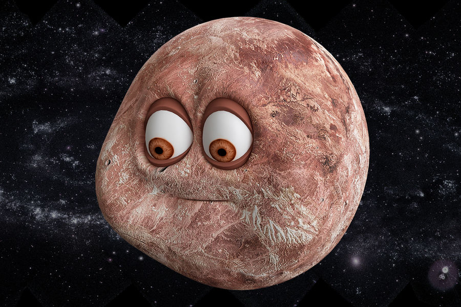 solar system All planets royalty-free 3d model - Preview no. 16