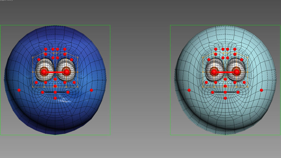 solar system All planets royalty-free 3d model - Preview no. 25