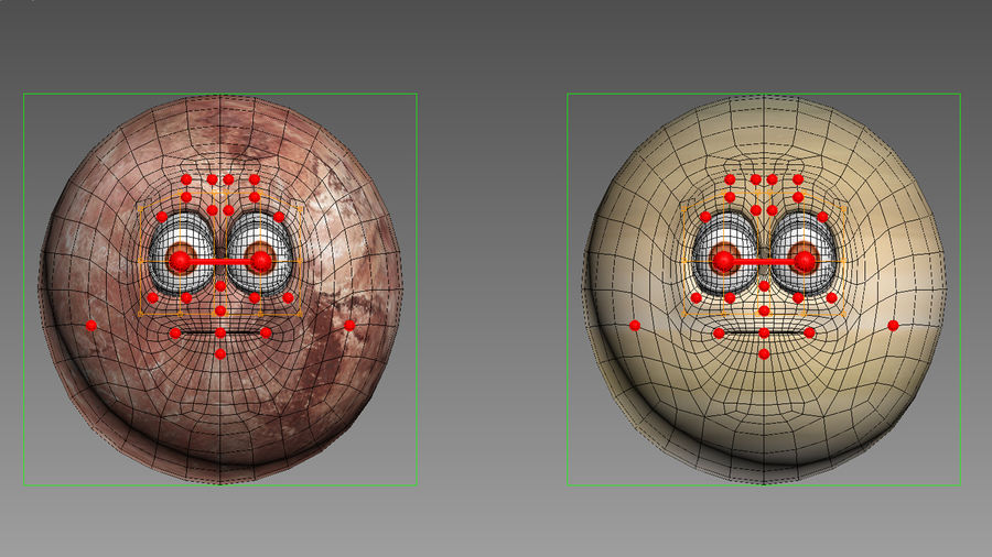 solar system All planets royalty-free 3d model - Preview no. 27