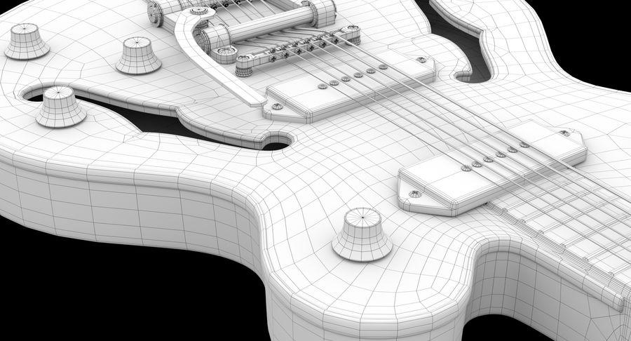 エレキギター royalty-free 3d model - Preview no. 6
