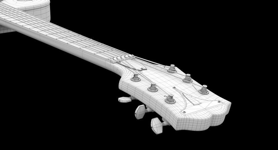 エレキギター royalty-free 3d model - Preview no. 8