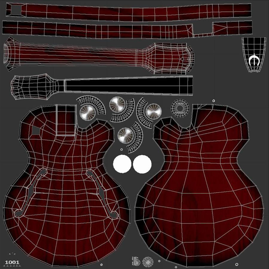 エレキギター royalty-free 3d model - Preview no. 11