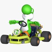 Mario Kart Tour  - Yoshi Pipe Frame 3d model