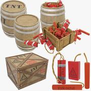 TNT Collection V1 3d model