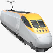 Express Locomotive Generic 3d model